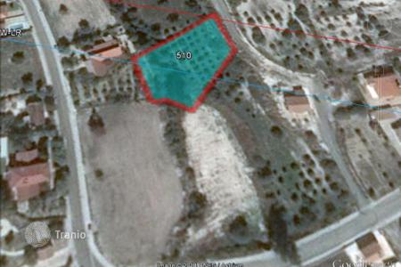 Cheap land for sale in Skarinou. Building Plot