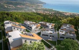 Houses with pools for sale in Italy. Villas and townhouses with garden, parking and sea views, in the new prestigious complex, in Calabria, 5 min from the center of Zambrone