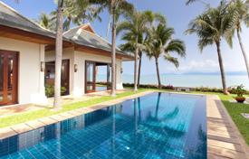 5 bedroom villas and houses to rent in Ko Samui. Villa on the beach in Maenam