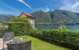 Cheap apartments with pools for sale in Italian Lakes. Cozy apartment with a private garden on the lake in Laglio, Lombardy, Italy