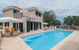 6 bedroom houses for sale in Croatia. Two cozy villas, each with two terraces, a pool and a garden, near the sea, Brac, Splitsko-Dalmatia County