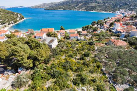 Land for sale in Croatia. Amazing land in central Dalmatia, in town Marina near Trogir, 2900 m². Ideal for building one to max three villas with pools