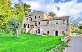Residential for sale in Marche. Comfortable three-storey house with a terrace and a garden, Marche, Italy