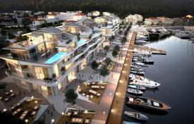 Modern apartment with aswimming pool, terrace and sea views in a new residential complex with all the infrastructure, Cumbor, Montenegro for 3,238,000 €