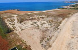 Large plot for building a villa on the first beach line, overlooking the sea, Ormidia, Cyprus for 2,800,000 €