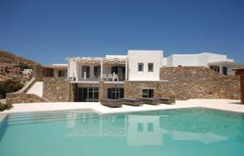 5 bedroom houses by the sea for sale in Aegean. Luxury villa in Mykonos
