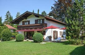 Luxury houses for sale in German Alps. Part of a house in a quiet area of the city, Rottach-Egern, Germany