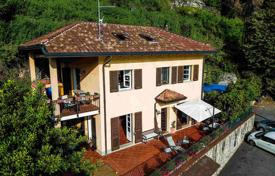 Comfortable villa with a garden, a jacuzzi, a garage, terraces and mountain and lake views, Brienno, Italy for 590,000 €