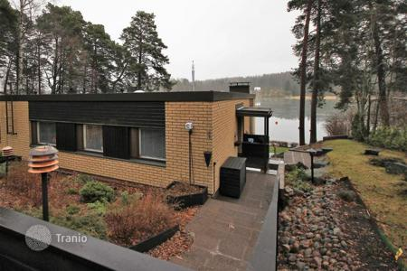 Property for sale in Northern Europe. Comfortable, furnished house with its own pier and coastline, Helsinki, Finland