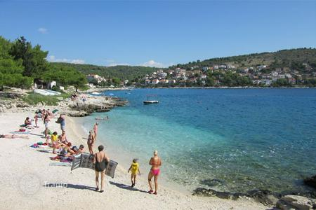 Coastal development land for sale in Dalmatia. Development land - Trogir, Split-Dalmatia County, Croatia