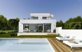 4 bedroom houses for sale in Caldes de Malavella. Modern two-storey villa with a pool and a terrace, surrounded by a beautiful natural landscape, Caldas de Malavella, Spain