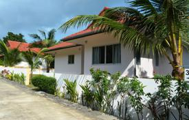 Houses for sale in Southeastern Asia. Furnished house with a terrace, in a gated complex, Samui, Thailand
