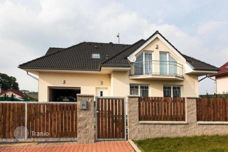 Property for sale in Central Bohemia. Modern house with a garden in Zdiby, Czech Republic