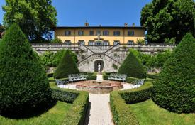 Beautiful villa with a swimming pool and large plot, Monte San Quirico, Italy. Price on request