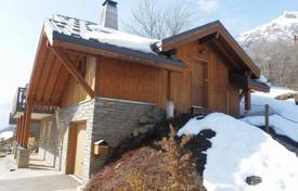 Chalets for sale in France. Three-storey chalet with a balcony, 2 minutes walk from the cable car, in the popular resort of Alpe d'Huez, Isère, Alpes, France