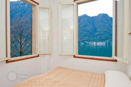 3 bedroom houses for sale in Italian Lakes. Three-level house right on Lake Como, Nesso, Lombardy, Italy