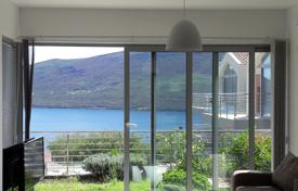 2 bedroom apartments by the sea for sale in Denovici. Waterscape apartment in residential compound in Kotor Bay