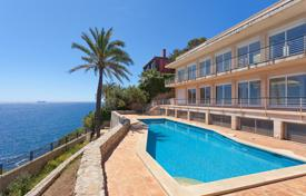 New villa with two elevators, a pool, a jacuzzi, a sauna and terraces, Cala Vinyes, Spain for 7,000,000 €