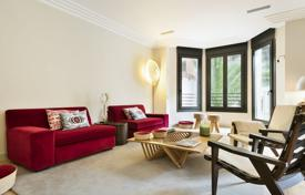 4 bedroom apartments for sale in Barcelona. New two-level apartment with a garden in a guarded residence with a concierge, in the district of Sant Gervasi-Galvany, Barcelona, Spain