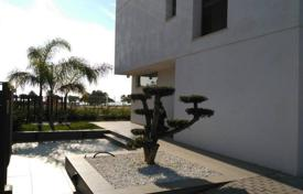 Houses with pools for sale in Tarragona. Modern villa with a garden, a pool and a sea view, Cambrils, Spain