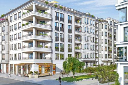 Apartments with pools for sale in Germany. New two-bedroom apartment in Kreuzberg- Friedrichshain area, Berlin