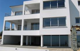 New homes for sale in Paphos. A contemporary new detached 3-storey villa with uninterrupted Mediterranean Sea views