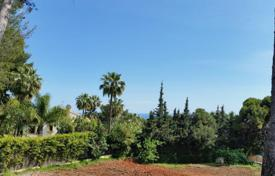 Development land for sale in Costa del Sol. Plot for sale in Nagüeles, Marbella Golden Mile