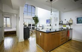 Condos for rent in Brooklyn. Stunning 960sf lofted duplex with soaring ceiling heights and private roof deck!