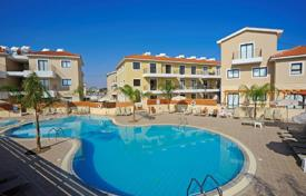 Apartments with pools for sale in Protaras. Spacious apartment with a veranda and a garden in a modern residence with a pool, near the beach, Protaras, Famagusta, Cyprus