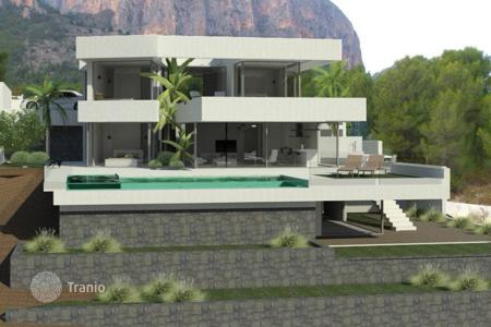 3 bedroom houses for sale in Calpe. Villa of 3 bedrooms in modern style with private pool and garden with diverse plants in Calpe