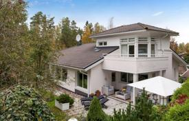 Houses for sale in Finland. Furnished house with a terrace and a garden, Espoo, Finland