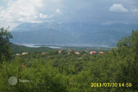 Coastal land for sale in Kotor. Non urbanized piece of land in Radanovici/Kotor municipality, area of Lazine. Size of the land 4398 m². Land has sea view