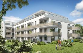Property for sale in Klosterneuburg. Two-bedroom penthouse with a terrace in a new house, in Klosterneuburg, a suburb of Vienna