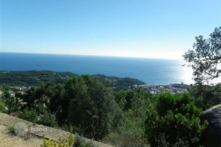 Coastal development land for sale in Costa Brava. Plot of land Costa Brava