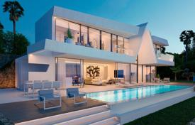 Property for sale in Moraira. Luxury villa with private pool, basement and beautiful sea views in Moraira