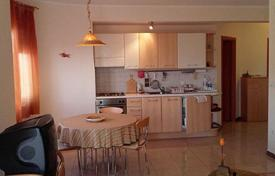 Cheap residential for sale in Istria County. Furnished bright apartment with terrace, near the sea, Medulin, Croatia
