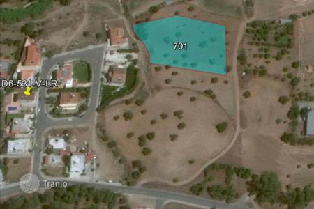 Development land for sale in Psevdas. Building Land