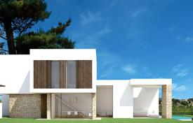 3 bedroom houses for sale in Moraira. Luxury design semi detached villa in Moraira