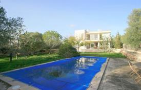 Houses with pools for sale in Marratxí. Modern furnished villa with a private garden, a pool and a terrace, Marratxi, Spain