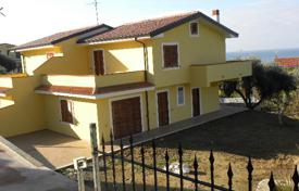 Property for sale in Calabria. A new villa on the coast with the own garden and a panoramic view of the sea in Diamante, Calabria