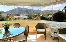 Apartments with pools by the sea for sale in Andalusia. Two-bedroom apartment 150 meters from the sea in Marbella, Andalusia, Spain