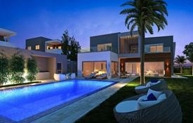 4 bedroom houses for sale in Limassol. 4 Bedrooms Villa with Sea View — Mouttagiaka, Limassol