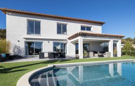 Luxury houses for sale in Mandelieu-la-Napoule. Exclusivity — Brand new villa in secured domain