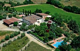 Wine estate with a restored historic main house, gardens, a swimming pool and a tennis court, Castellina in Chianti, Italy for 4,200,000 €