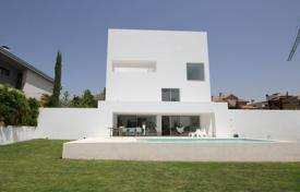 Property for sale in Madrid. Stylish designer villa with a view of the city in the district of Aravaca, Madrid, Spain