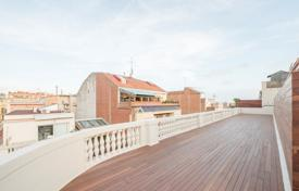 Penthouses for sale in Catalonia. Spacious penthouse with rooftop terrace, in a residential complex with a lift, Sant Gervasi, Barcelona, Spain