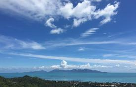 Development land for sale in Thailand. A plot of land with sea view in Bophut area of Koh Samui