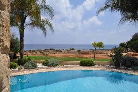 4 bedroom houses for sale in Famagusta. Four Bedroom Detached Beachfront Villa in Cape Greco