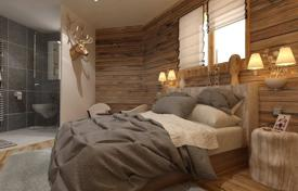 Cheap residential for sale in Auvergne-Rhône-Alpes. Cozy three-room apartment in new a building in the ski resort of Morzine, Haute-Savoie, France