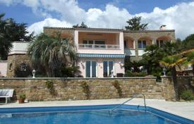 Houses with pools for sale in Cipressa. Renovated villa in Cipressa, Italy. Large swimming pool, barbecue area, parking